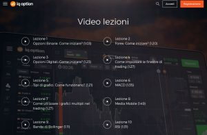 IQ Option videolezioni